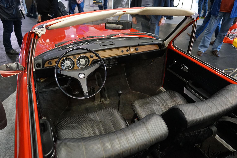 VW 411L Cabrio Prototyp, dashboard
