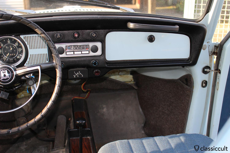 My 1969 VW Bug with Blaupunkt Mannheim
