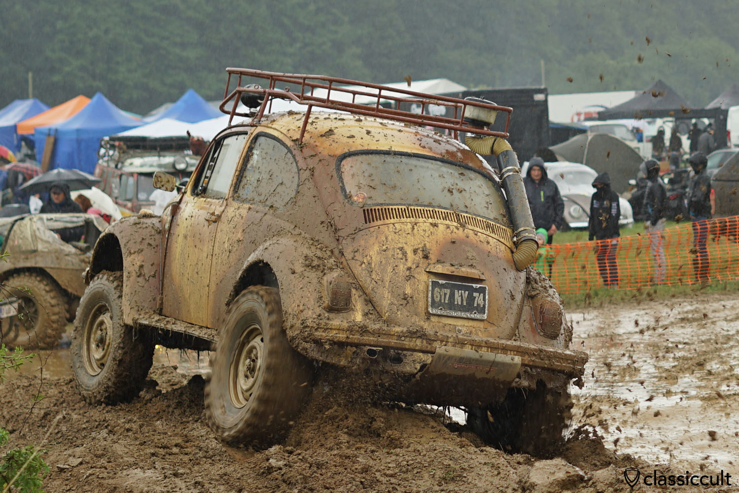 Vw Buggy In The Mud