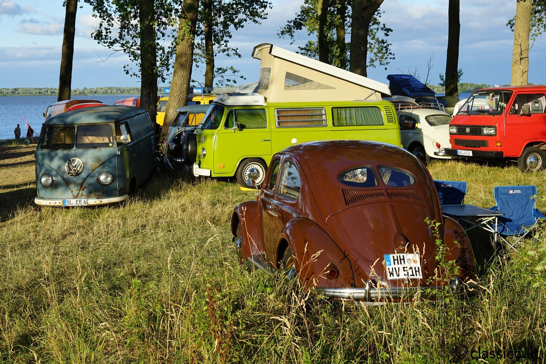 Küstendrive VW Treffen Krautsand 2018
