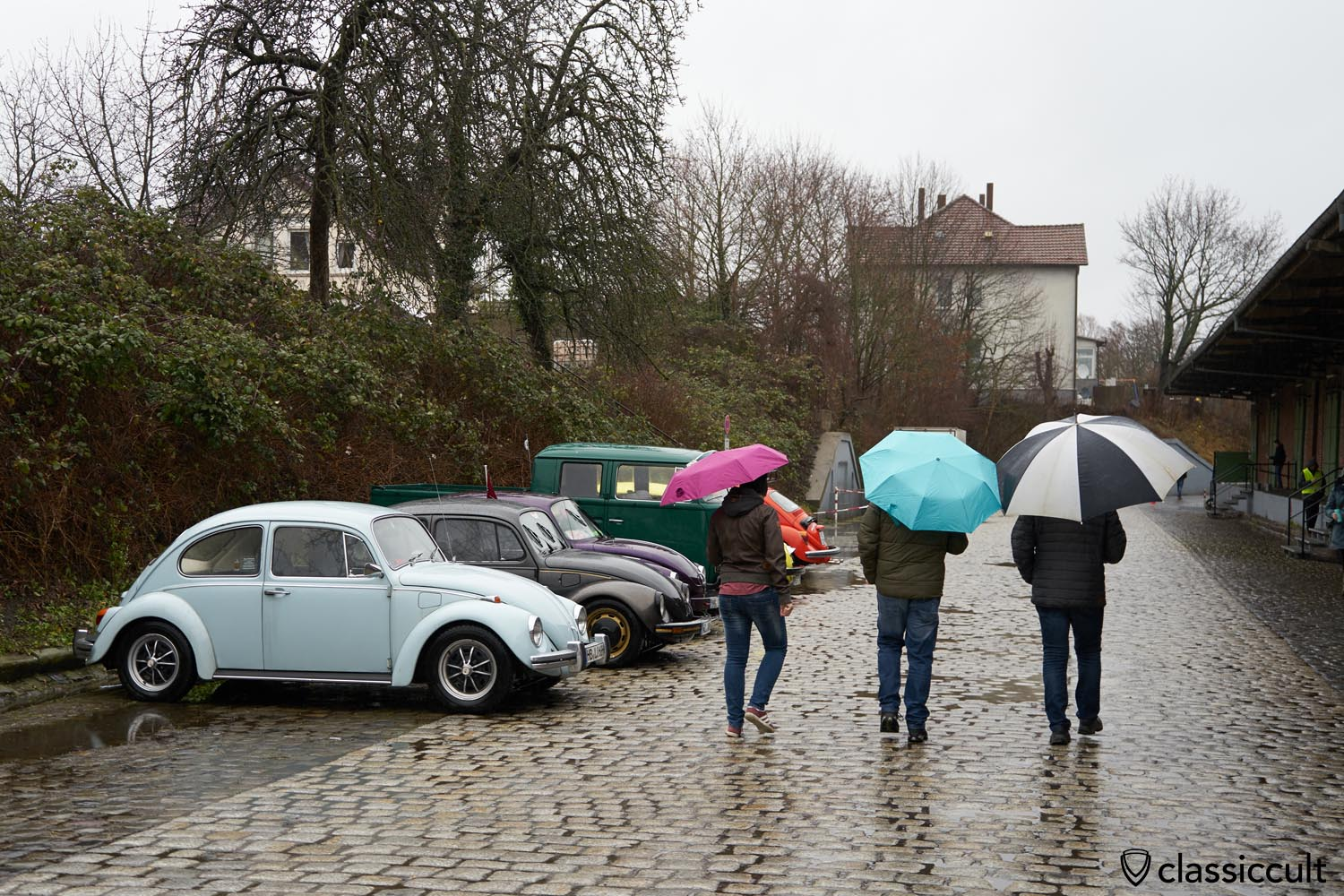 My 69 VW 1500 Beetle at Herford Wintertreffen 2019