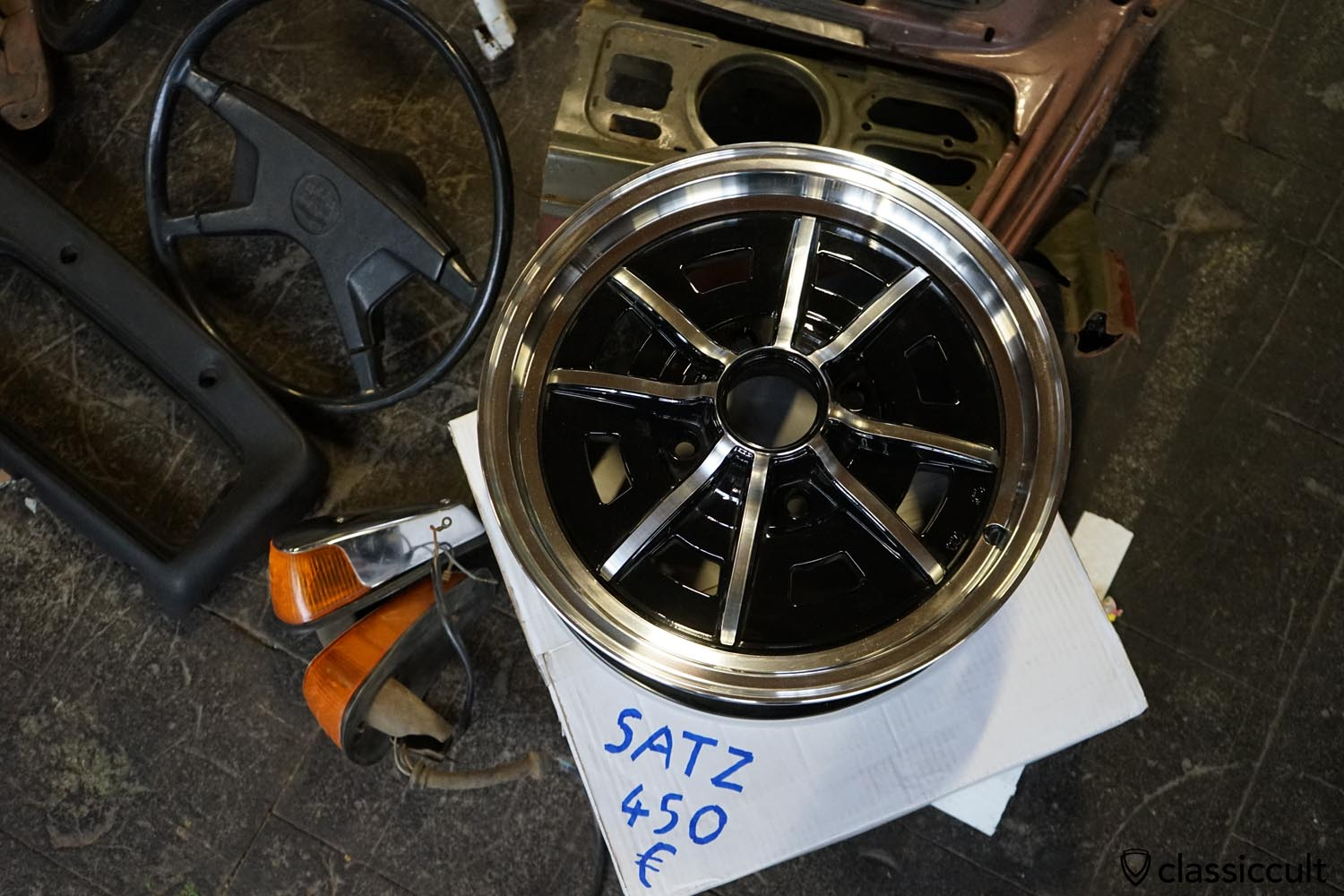 VW Sprintstar alloy wheels 4x130 repro
