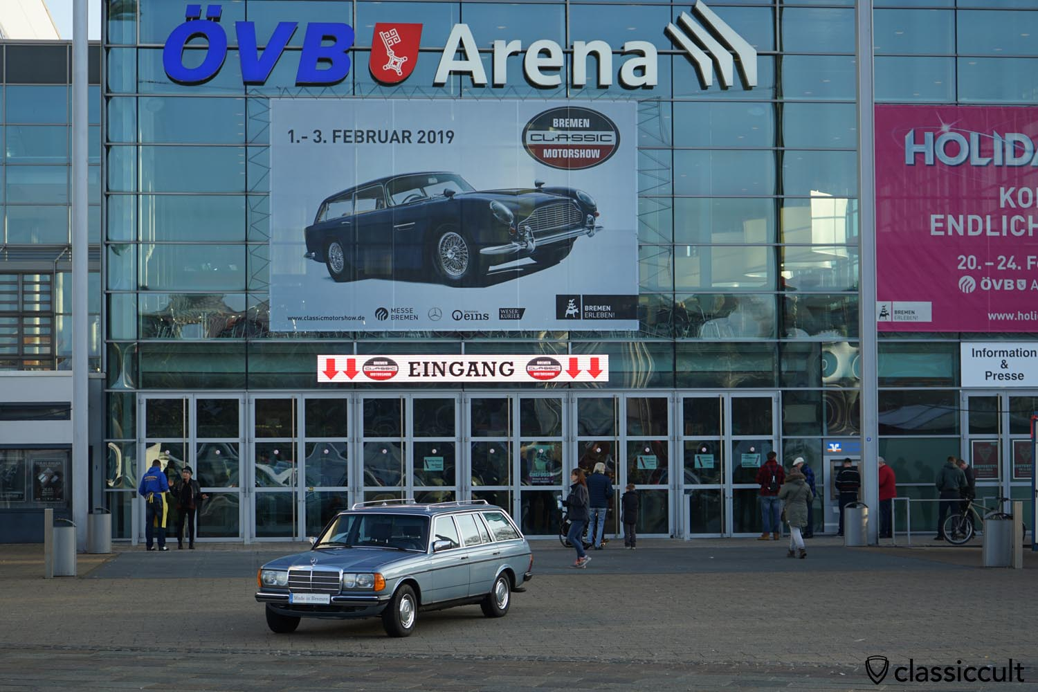 Welcome to Bremen Classic Motorshow, 9:30 a.m., Sunday, 3. February 2019