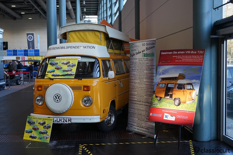 win a 1977 VW T2b Bus