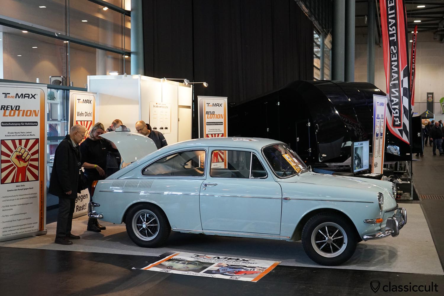 VW Type 3 Fastback Time Max rust protection