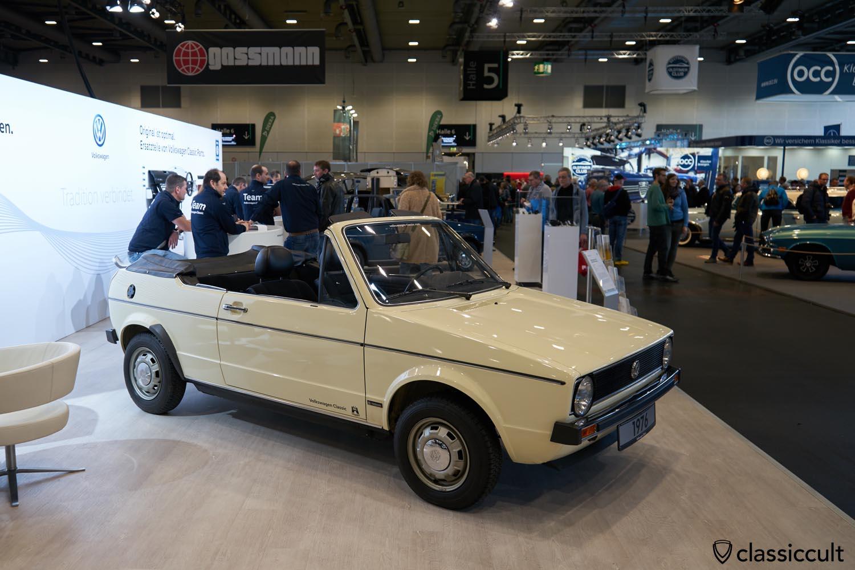 Golf 1 Cabriolet Prototype 1976
