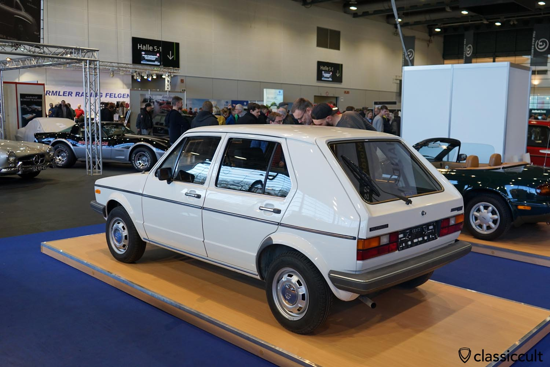 1981 Golf 1, 41200 KM, 60PS, 8950 EUR