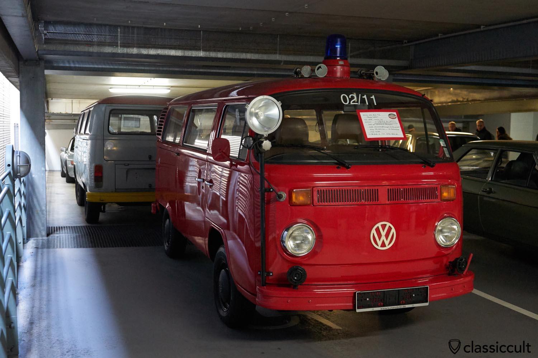 1978 VW T2 fire bus