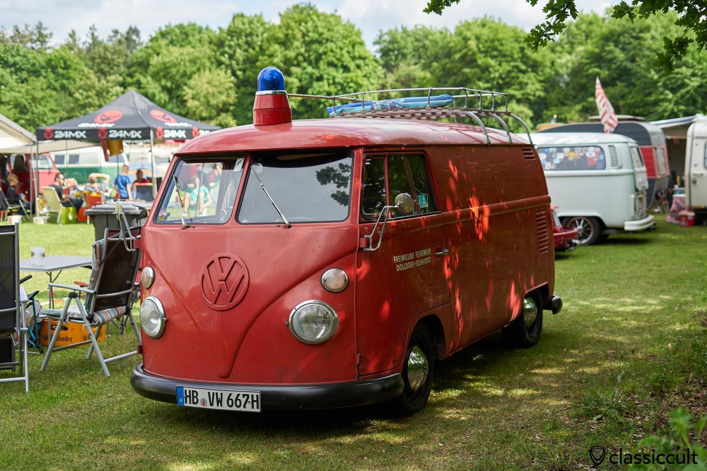 VW T1 Fire Bus