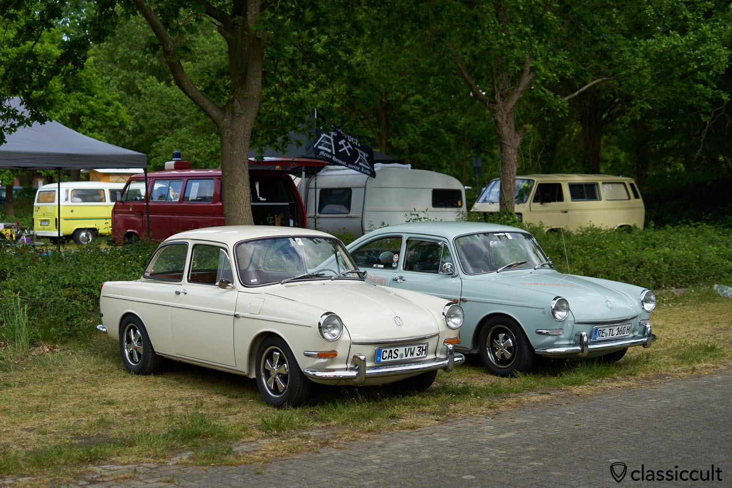 Type 3 Notchback and Fastback