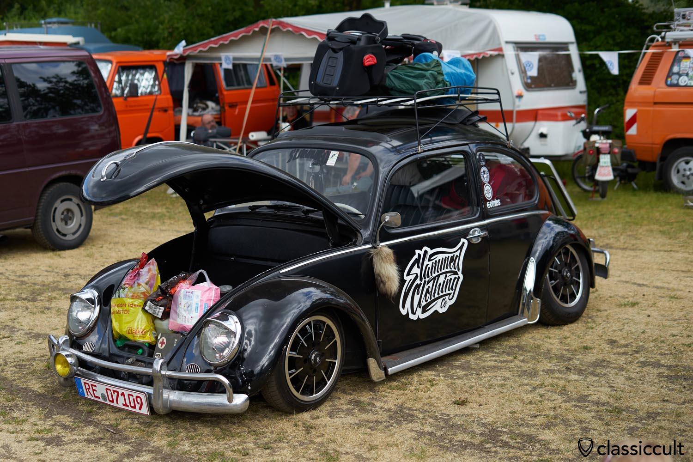 slammed VW Bug