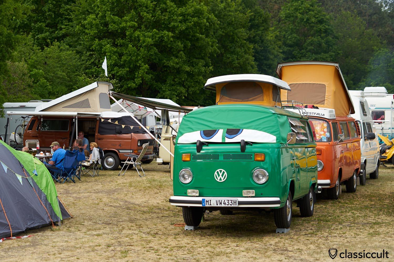 Geeste VW Show 2019, Camping Platz 11