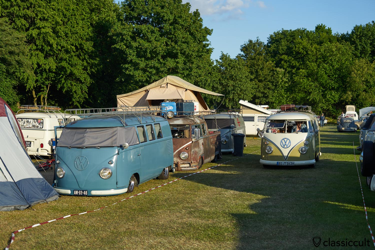 VW T1 Camping Platz 1, Geeste Aircooled Meeting