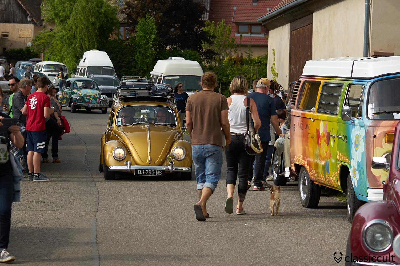 VW fans in Mittelbergheim
