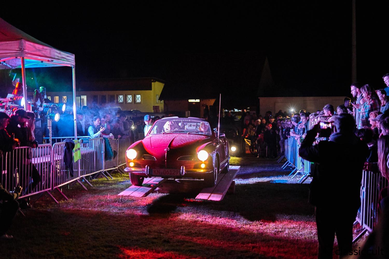 Karmann Ghia convertible seesaw
