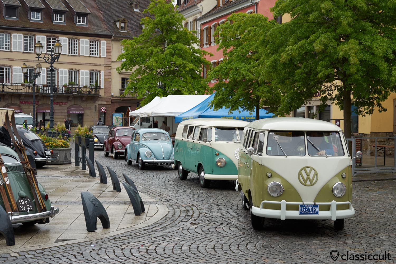 VW fans arriving at Cox Show 2019