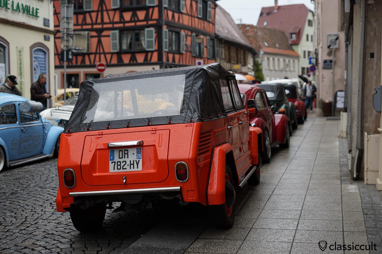 orange VW 181