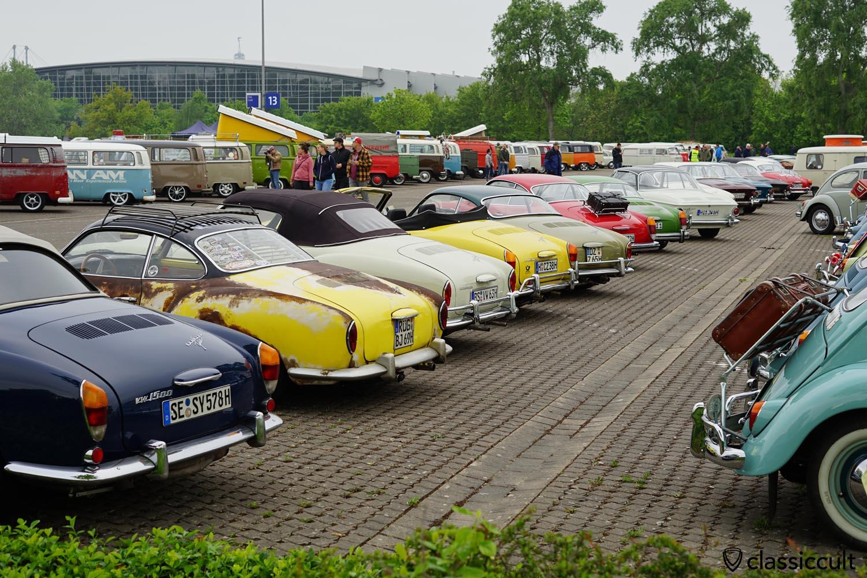 VW Karmann Ghia Show & Shine, MaiKaeferTreffen Hannover 2019