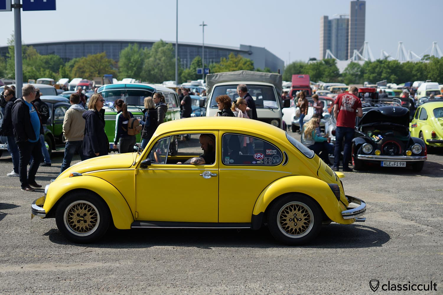 VW Bug on BBS wheels