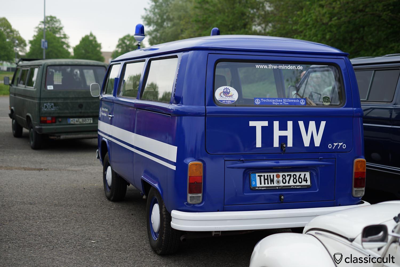 THW VW T2 Bus rear