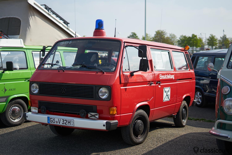 VW T3 Fire Bus Einsatzleitung