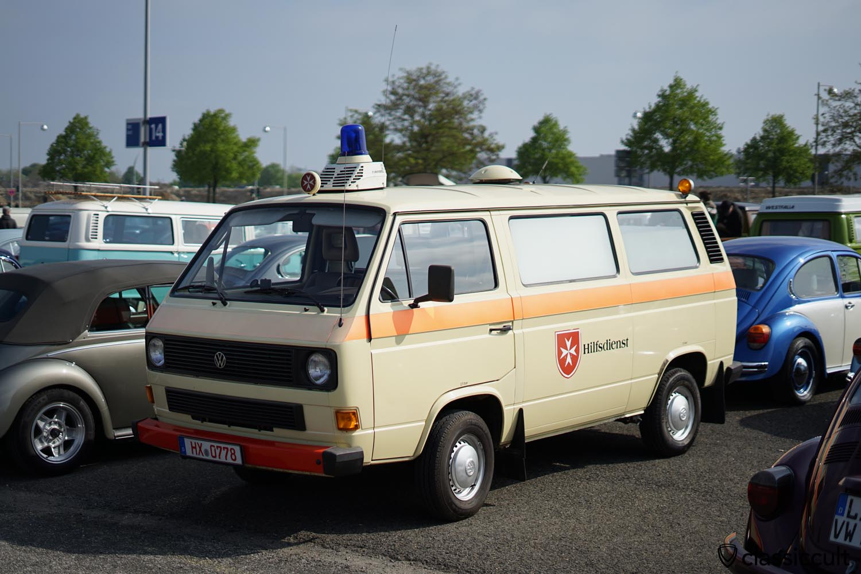 VW T3 Malteser Hilfsdienst Ambulance Bus
