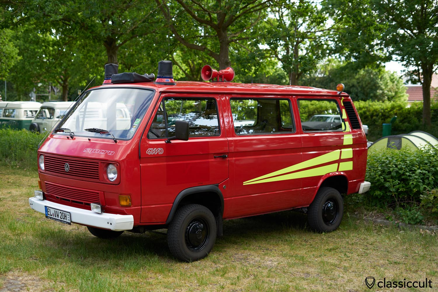 VW T3 4WD Syncro Feuerwehr Fire Bus