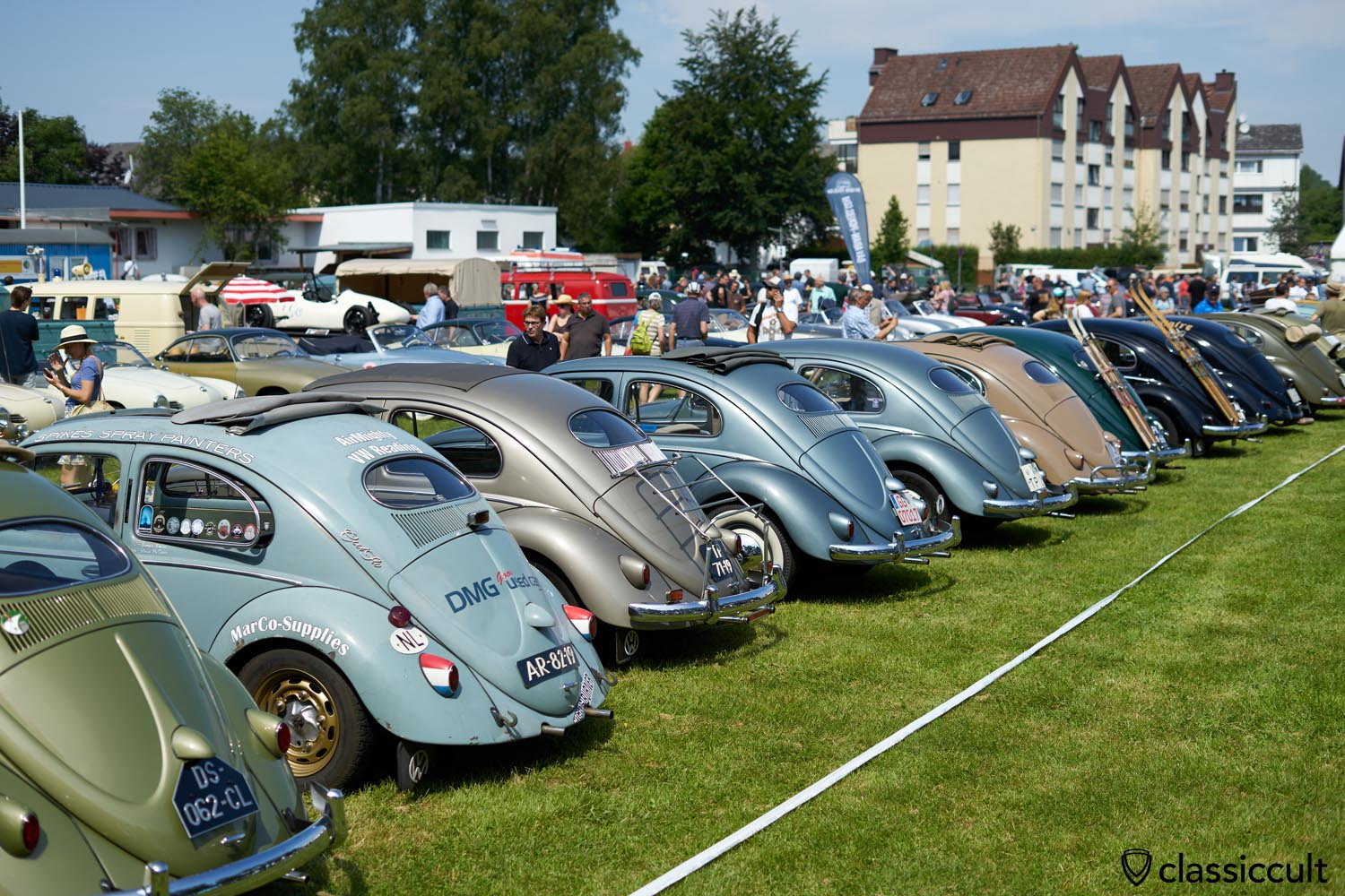 VW Ovals, 2019 Bad Camberg Meeting