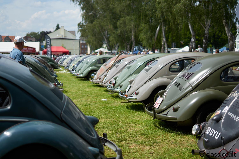 VW Split Beetles, Bad Camberger VW Show 2019