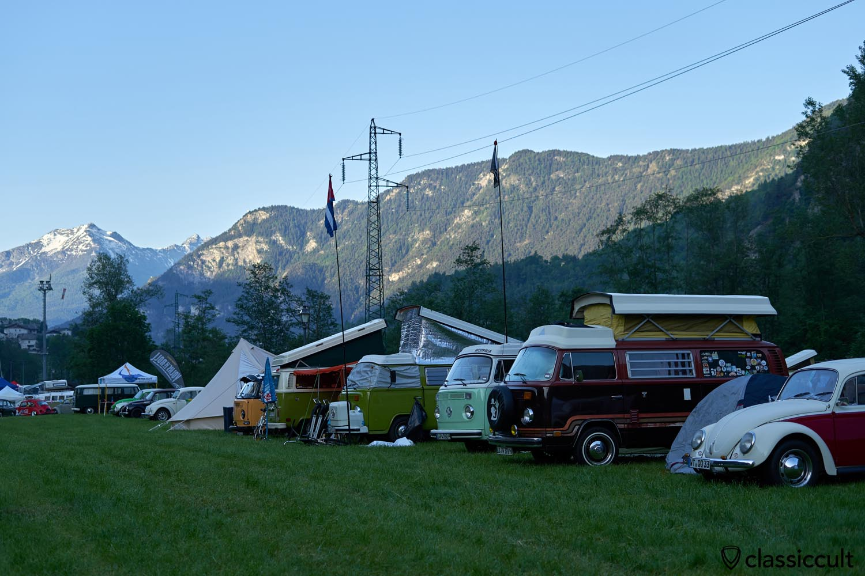 VW Bay Window Camping