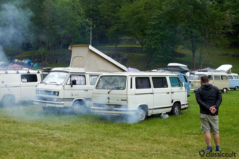 VW T3 smoke swath