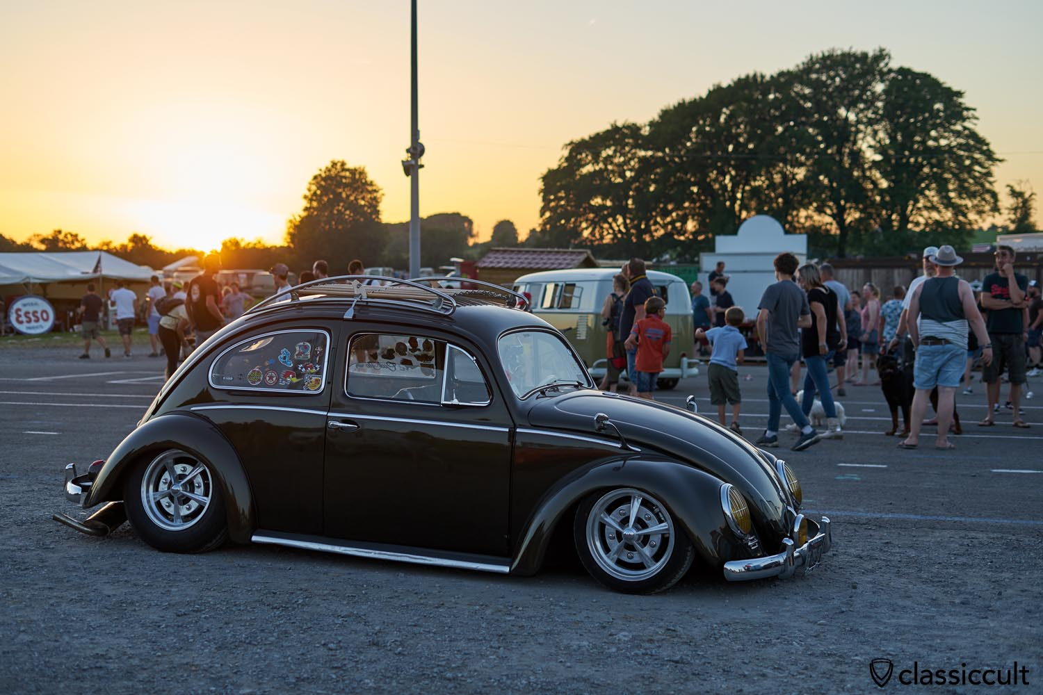 VW Oval sunset, European Bug In #8