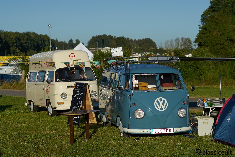 T1 Photobus, T2 Ice Cream high roof