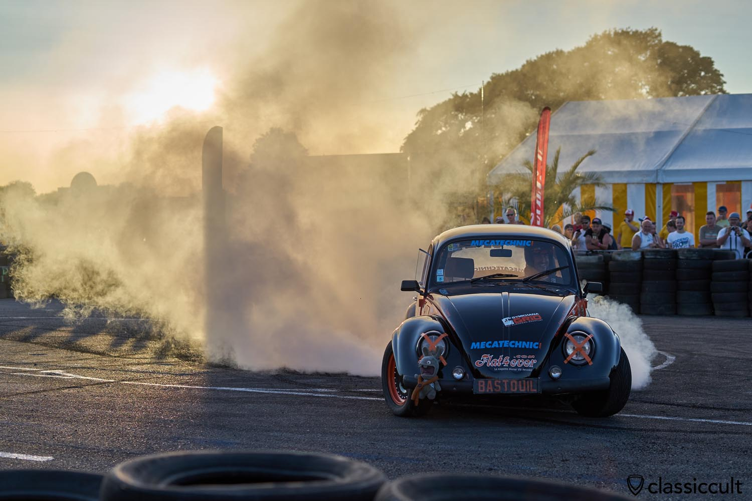 European Bug-In Chimay VW Burnout Show 2019
