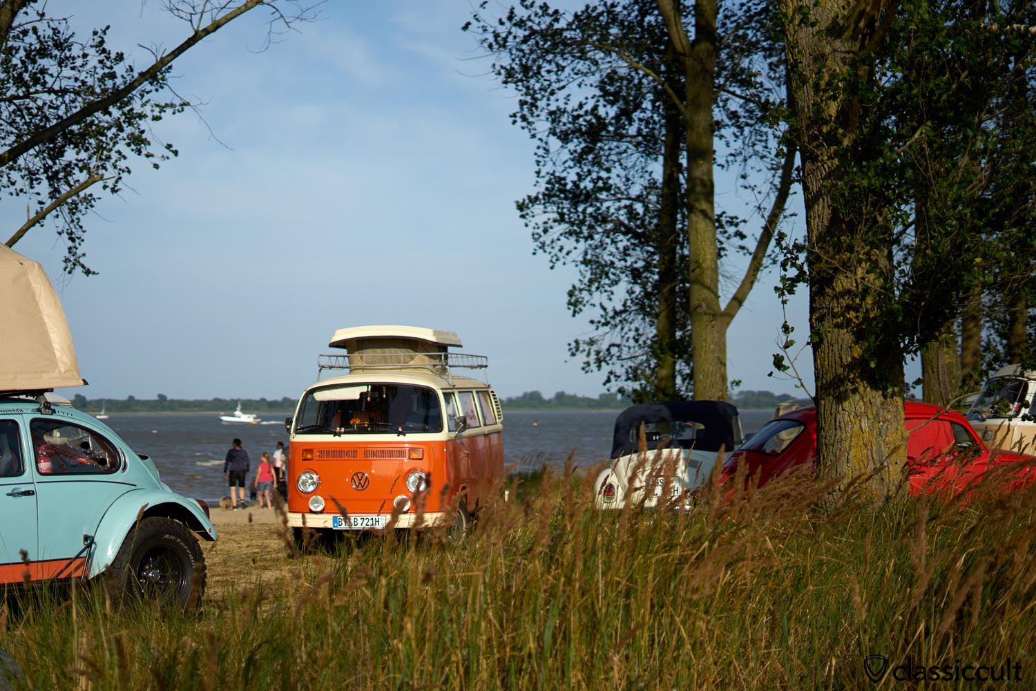Küstendrive VW Meeting Krautsand 2019