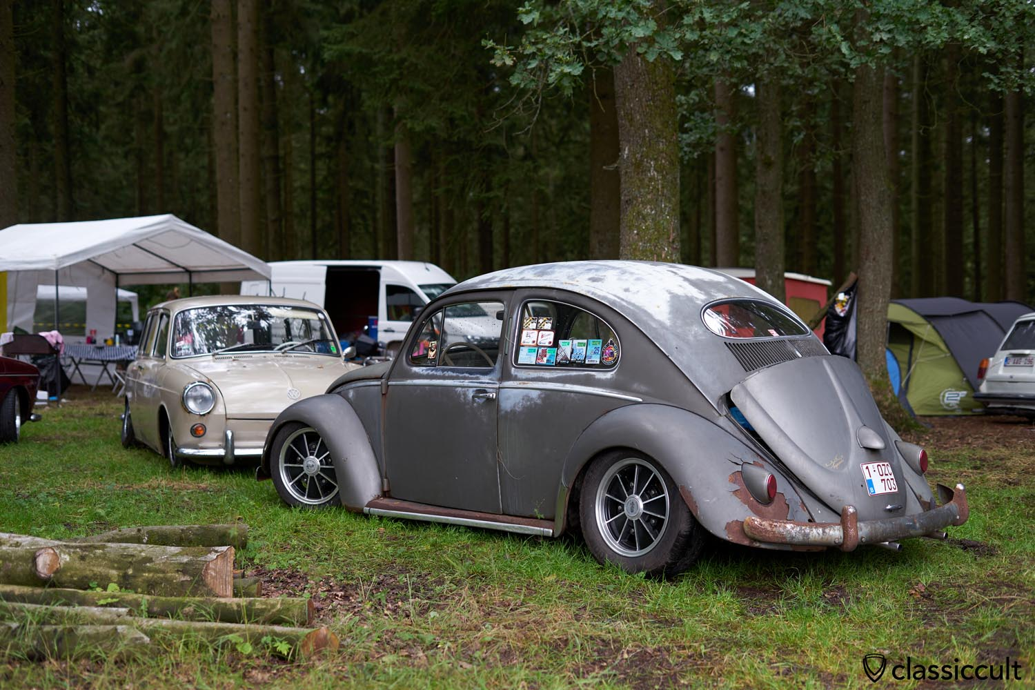 low Oval Bug with patina
