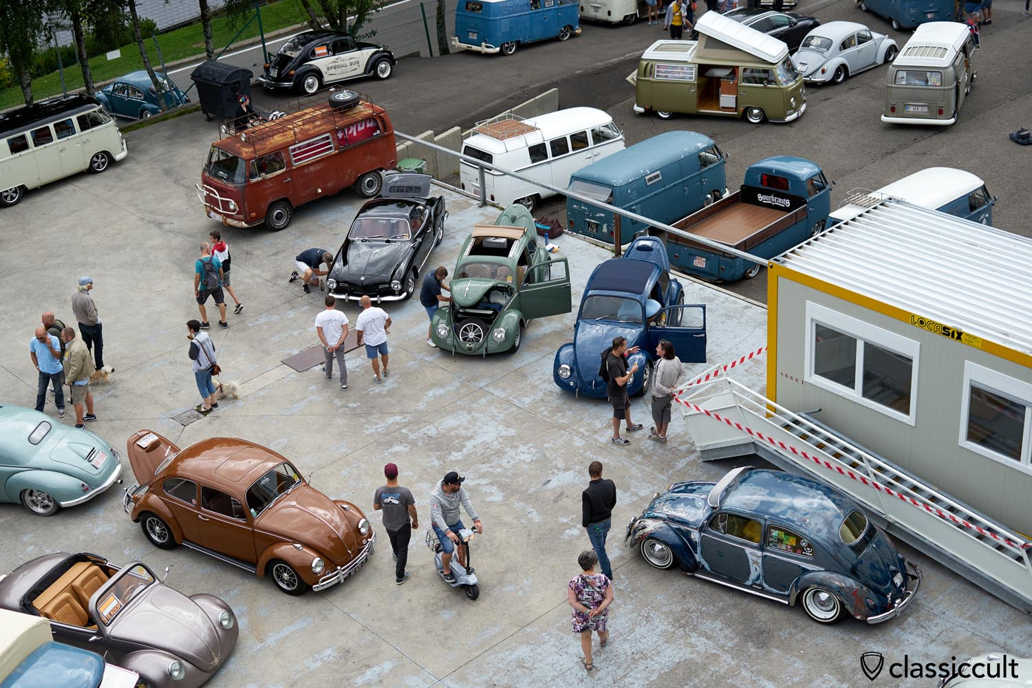 VW Show and Shine, Bug Show Spa Francorchamps