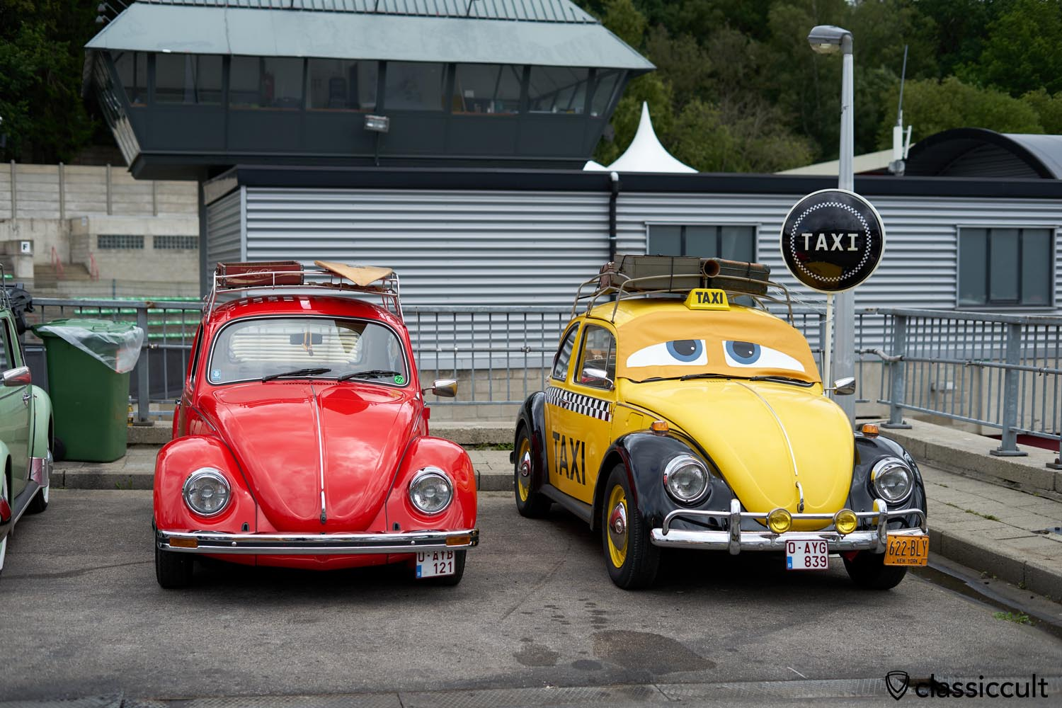 VW Beetle Taxi