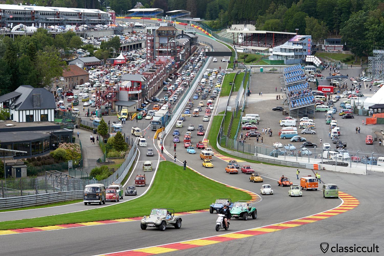 Le VW Bug Show 2019 Circuit Spa Belgium