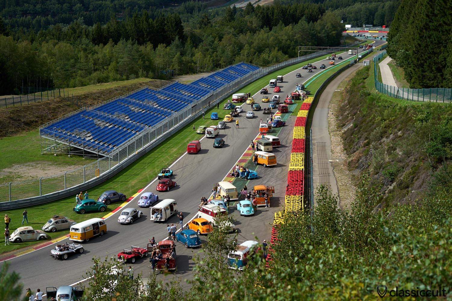 Volkswagen Parade, Bug Show Circuit Spa Francorchamps 2019
