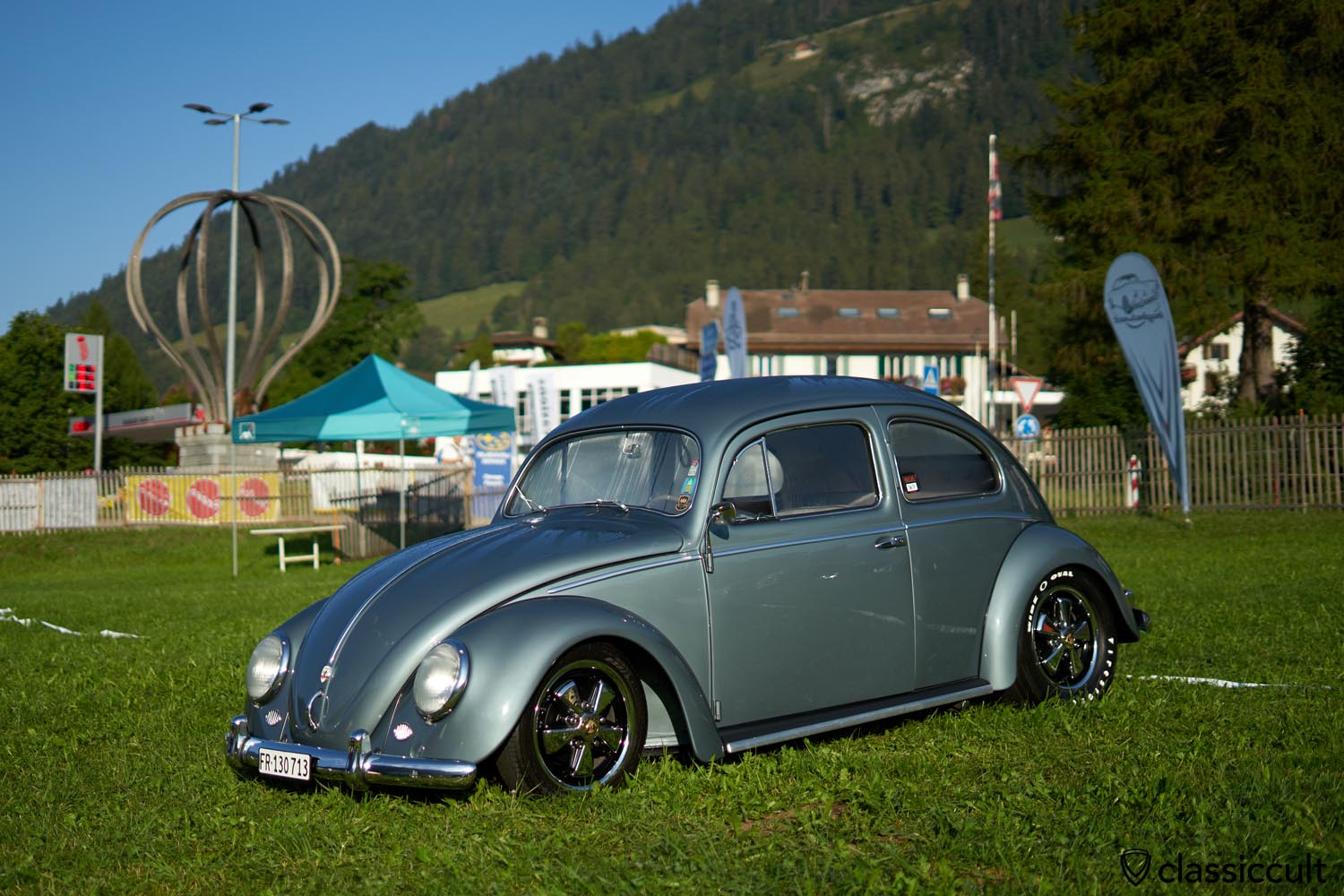 VW Oval on fuchs wheels