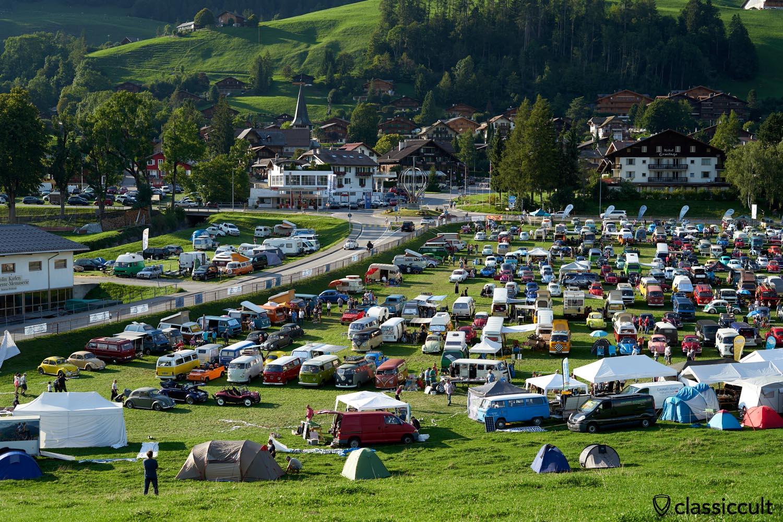 VW Cox Meeting Chateau D`Oex Switzerland 2019