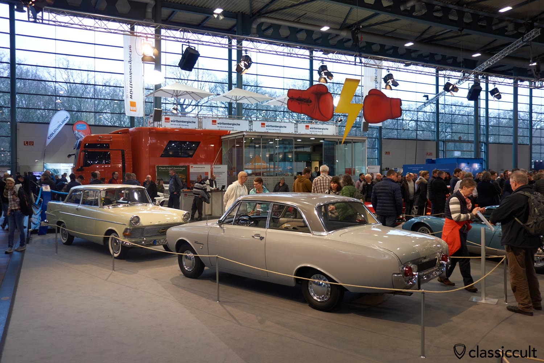 1962 Ford Taunus 17M, 1962 Opel Rekord 1500