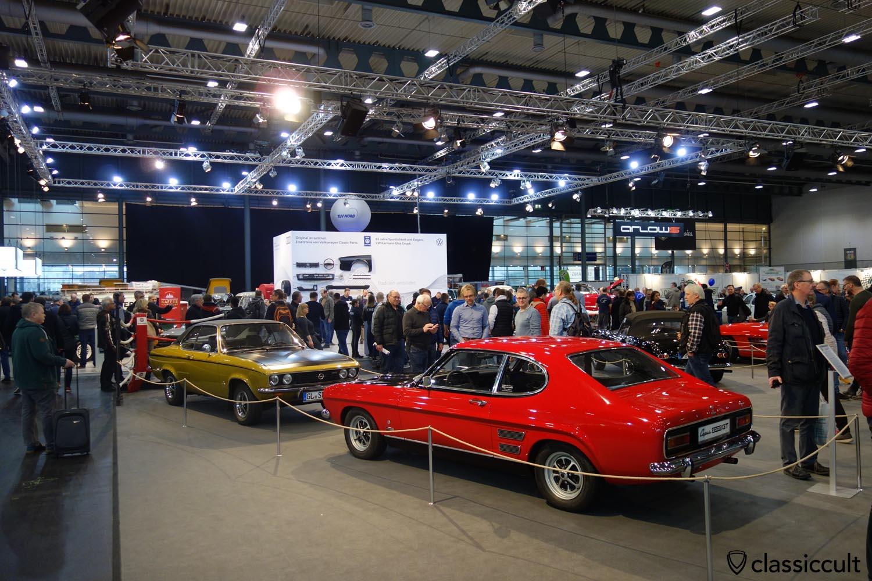 1969 Ford Capri 2300 GT XL, 1972 Opel Manta SR 1900 S