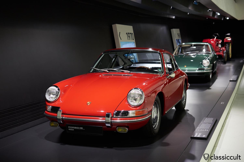 red 1964 Porsche 911