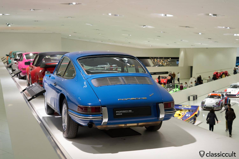 blue 1965 Porsche 911