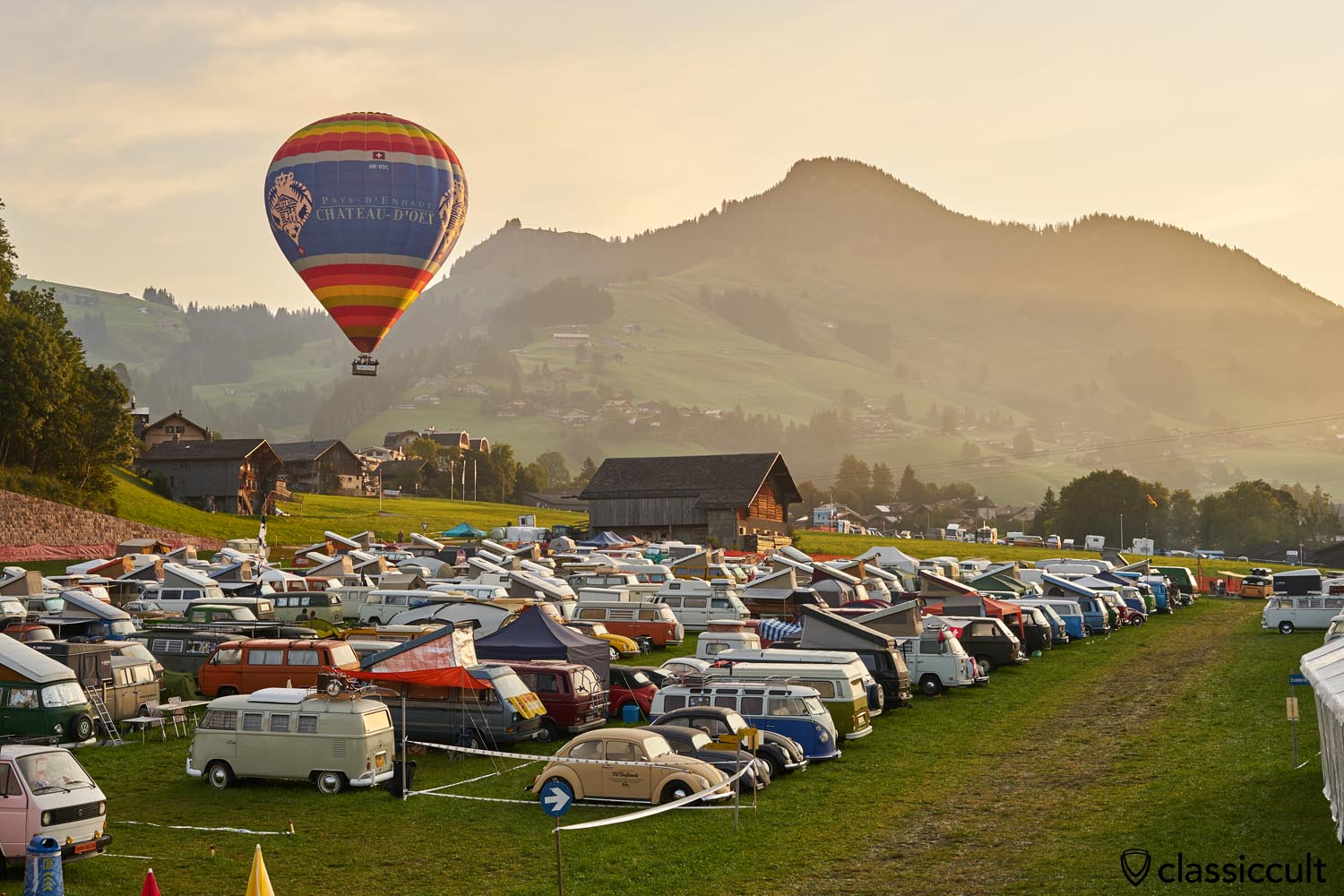 VW Cox Meeting Chateau D`Oex Swiss 2019