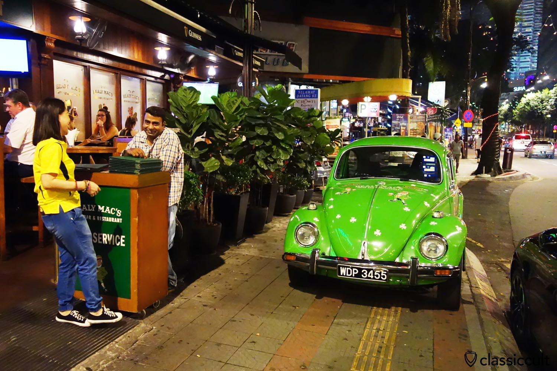 Classic VW Bug from the Healy Macs Irish Bar Kuala Lumpur