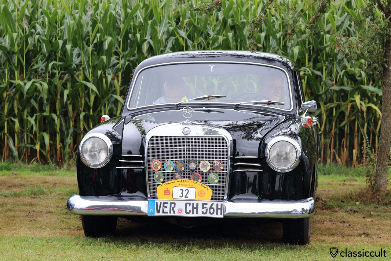 1962 Mercedes Benz 180 Dc Ponton