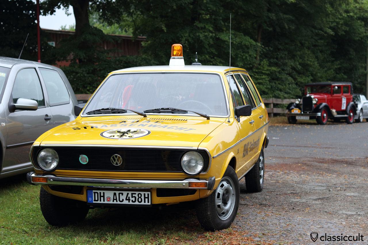 1976 VW Passat Variant ADAC Strassenwacht